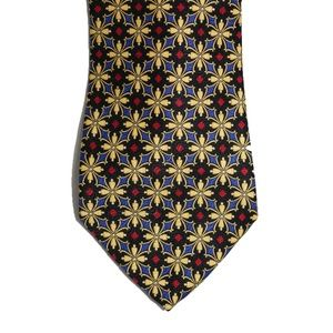 Nordstrom Made in Italy Gold Silk Neck Tie